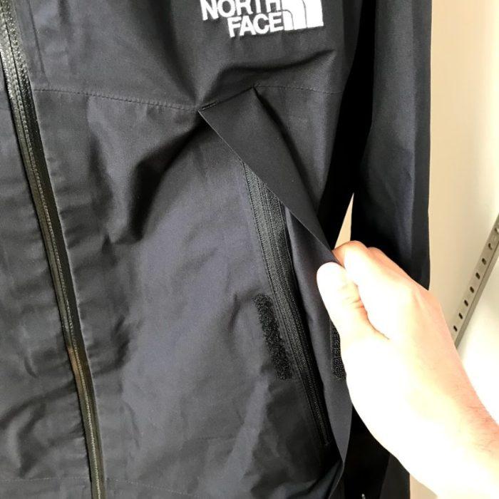 クライムライトジャケットポケット