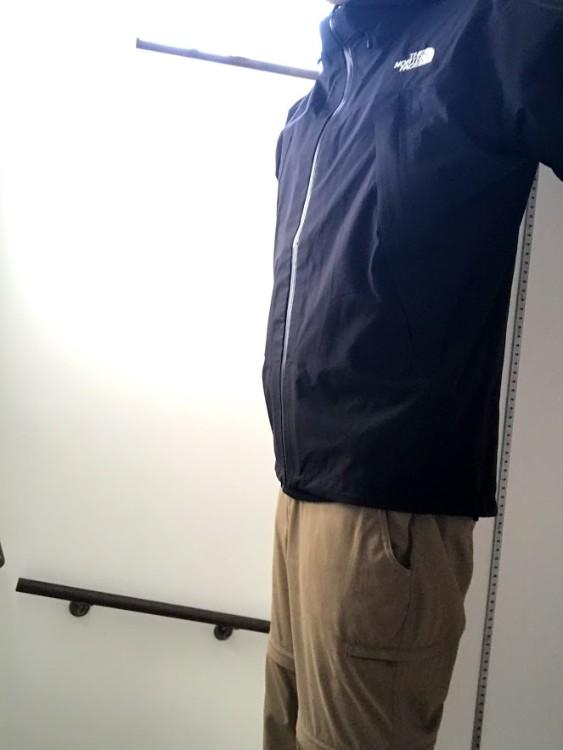 クライムライトジャケット着用2