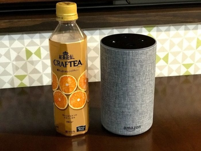 echoとペットボトルの比較