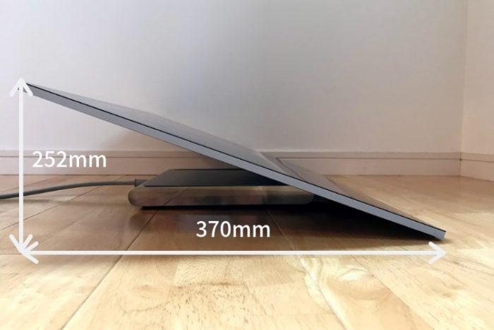 SurfaceStudio2液タブサイズ