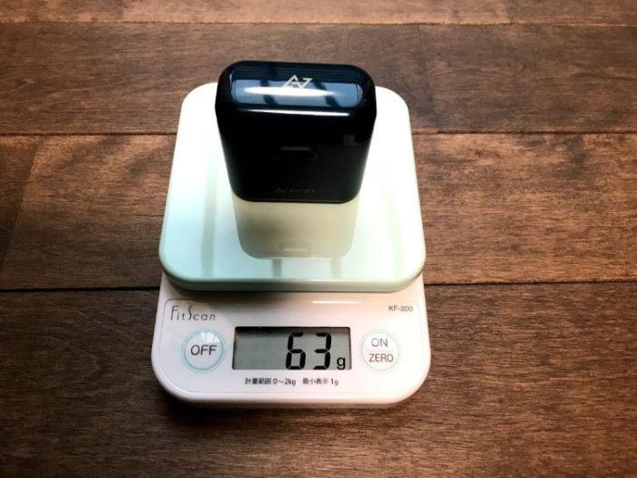 AVIOT TE-D01dケース重量