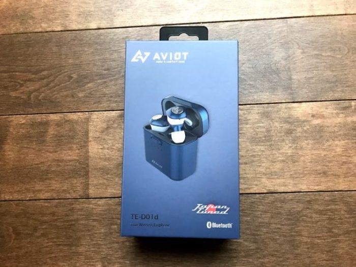 AVIOT TE-D01d外箱