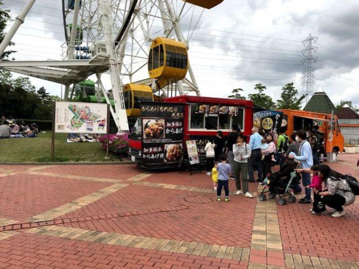 碧南市明石公園の移動販売車