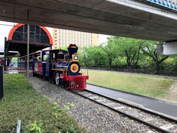 碧南市明石公園の汽車