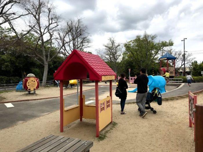 碧南市明石公園の無料遊具