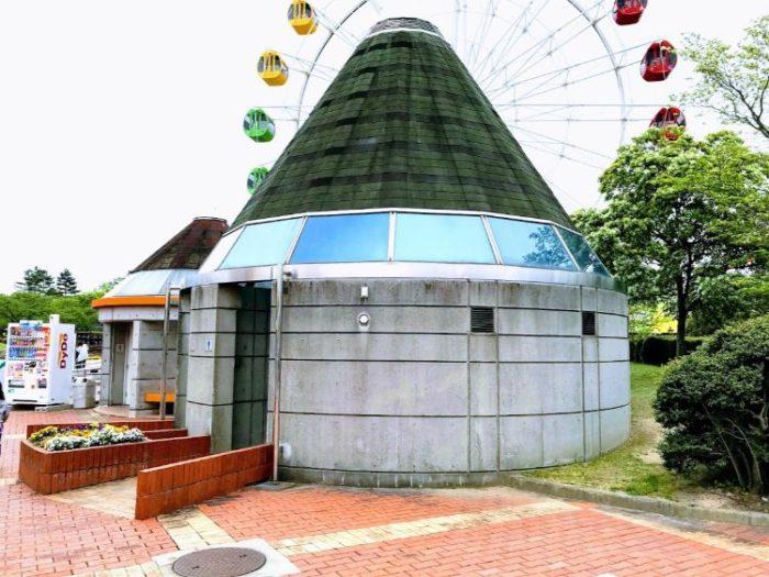 碧南市明石公園のトイレ