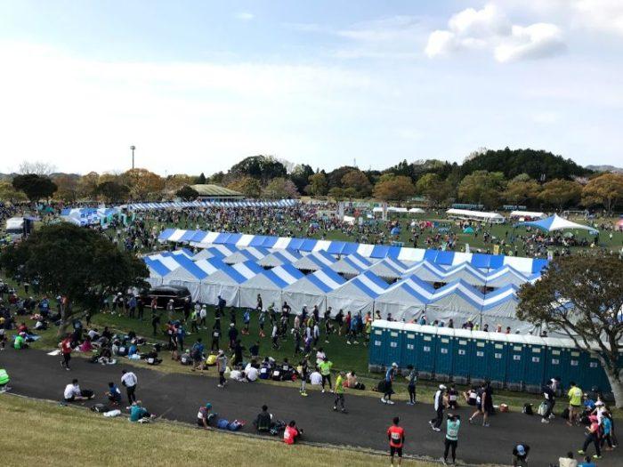 掛川マラソンスタート地点