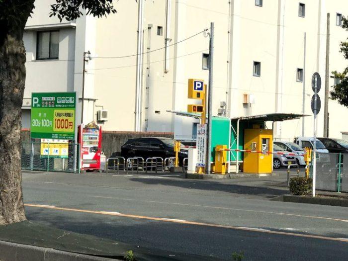 掛川駅駐車場
