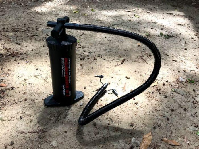 Hilander(ハイランダー)エアートンネルROOMY 付属品のポンプ