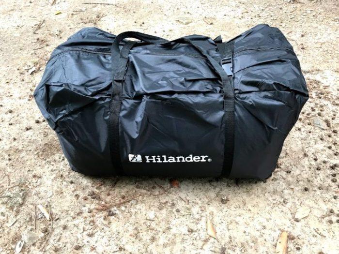 Hilander(ハイランダー)エアートンネルROOMY 収納時