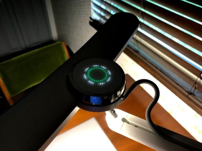 BenQ「WiT Mind Duo」の調光機能