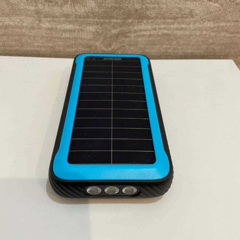 【レビュー】Anker powercore solar 20000 災害時も安心なソーラーモバイルバッテリー