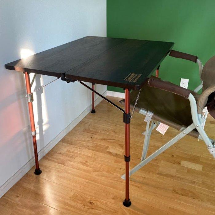 コールマンコンフォートマスターバタフライテーブル90 サイズ 高さ70cm