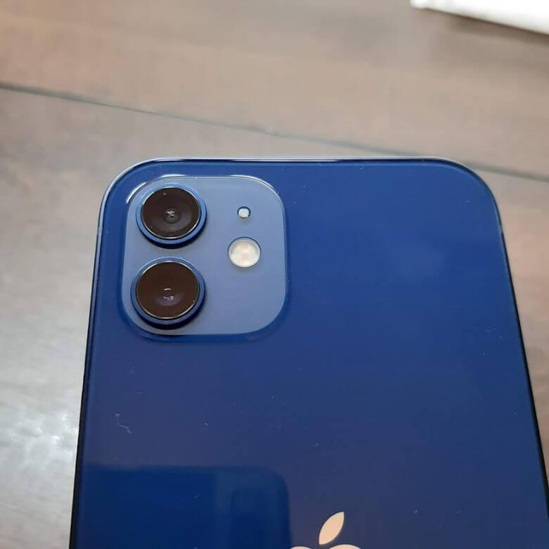 iPhone12のカメラ