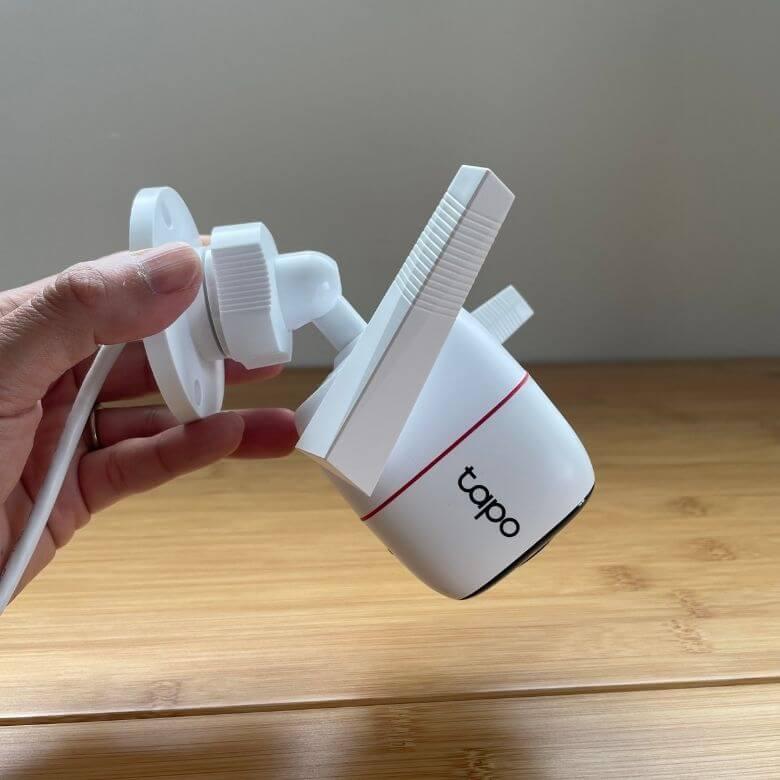 【Tapo C310 レビュー】防犯・見守りに使える2K録画の防水ネットワークカメラ